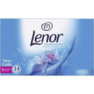 34x Lenor Aprilfrisch chusteczki zapachowe DE