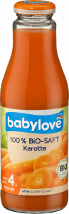 Babylove Bio Sok 100% Marchewka Witamina C 4m 500ml
