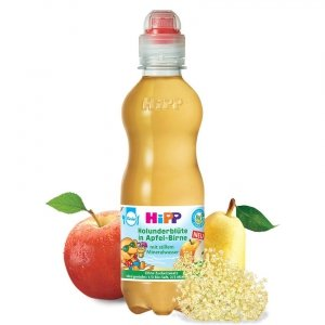 Hipp Bio Soczek Kwiat Czarny Bez Jabłko Gruszka 1r