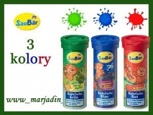 SauBar Tabletki do kąpieli barwiące wodę 10 szt.