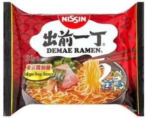 Nissin Demae Ramen Tokyo Makaron Sos Sojowy 100g