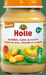 Holle Bio Ziemniaczki Cukinia Dynia 6m 190g