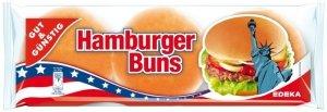 Gotowe Amerykańskie Bułki Hamburgerowe 6szt 300g