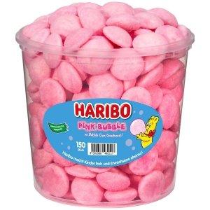 Haribo żelki Pink Buble pianki w posypce 150 szt 1050g