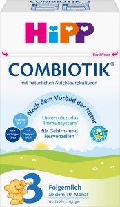 Hipp 3 BIO Combiotik 600g Mleko następne od 10 miesiąca