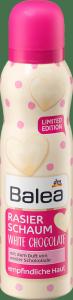 Balea White Chocolate Pianka do Golenia biała czekolada 150