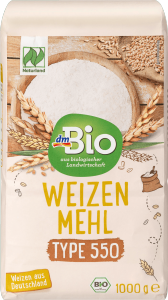 BIO Ekologiczna Mąka Pszenna Typ 550 1 kg