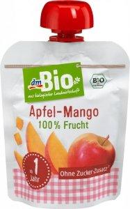 Bio Mus 100% owoców Jabłko Mango 1r 90g