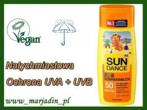 Sun Dance Mleczko Przeciwsłoneczne Opalania SPF50