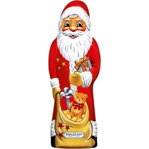 Czekoladowy Święty Mikołaj 23cm Mleczna Czekolada 150g