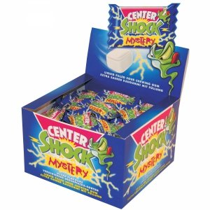 Center Mystery Mega Kwaśna guma Balonowa 100szt
