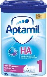 Aptamil HA 1 hipoalergiczne mleko od urodzenia 800g
