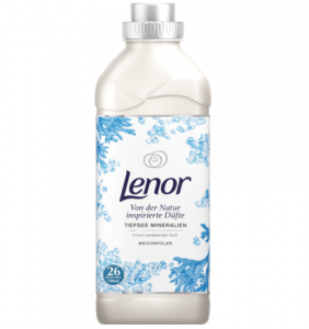 Lenor płyn płukania perfumowany Tiefsee Mineralien 26 płukań