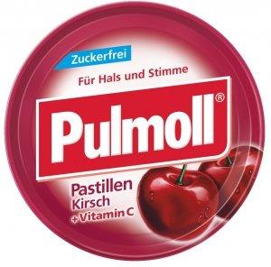 Pulmoll Wiśniowe Cukierki B/Cukru Wegan