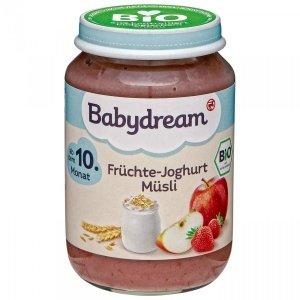 BabyDream Bio Musli z Owocami i Jogurtem 10m 190g