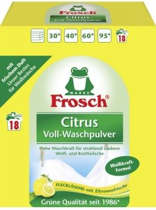 Frosch Proszek do Prania Białego Cytrynowy 1,35 DE