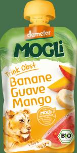 Mogli Demeter 100% Bio Banan Guawa Mango 100g
