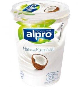 Alpro Naturalny Jogurt Sojowy Kokosowy Bez Laktozy