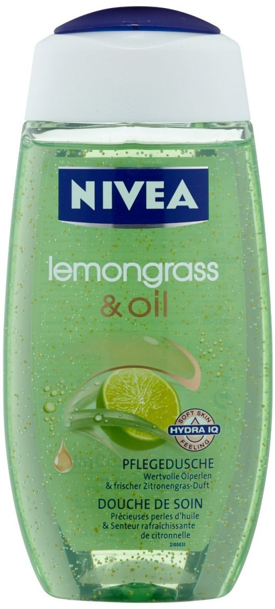 Nivea Lemongrass Oil Żel pod Prysznic 250 ml