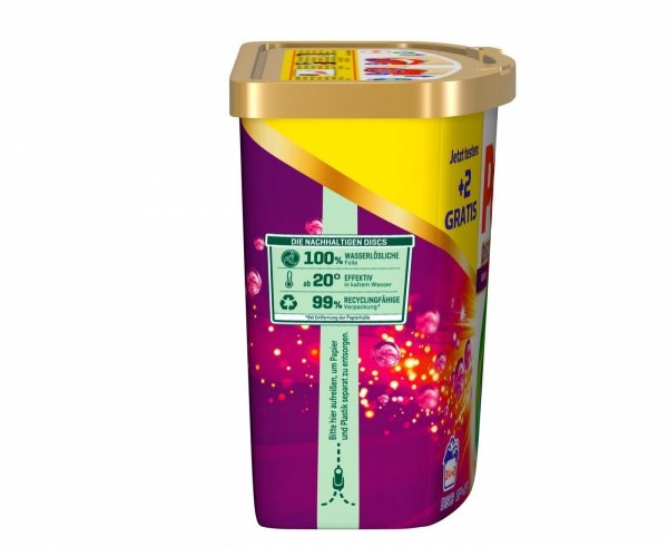 Persil Discs Color kapsułki do prania Kolor 16 pudełk