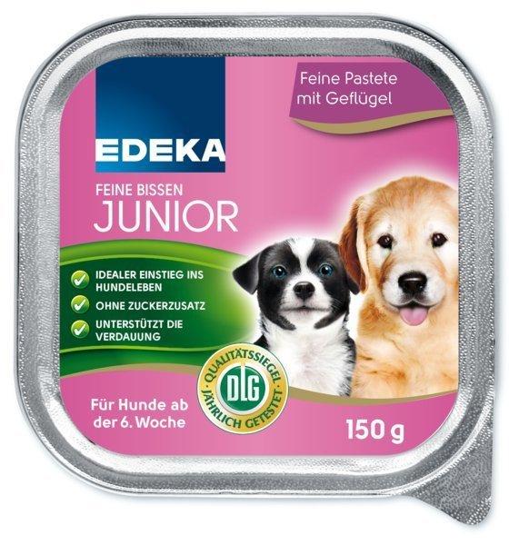 ED Przekąska pasztet psa Drobiowy Junior saszetka