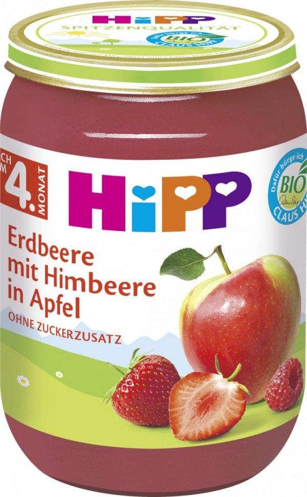 hipp-owoce-w-słoiku-z-truskawkami