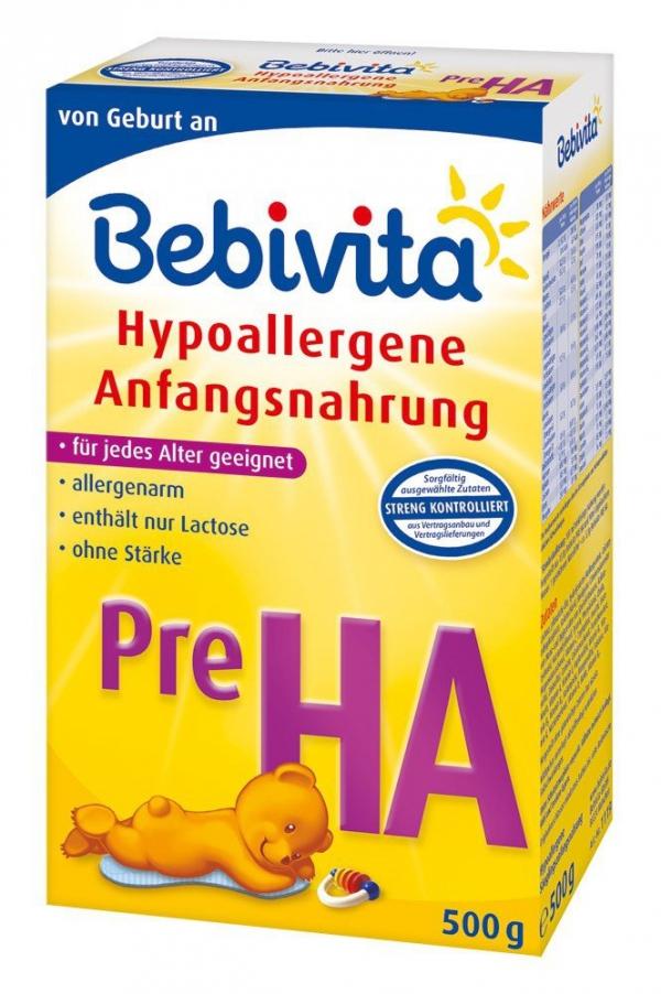 Bebivita Pre Dosierungstabelle