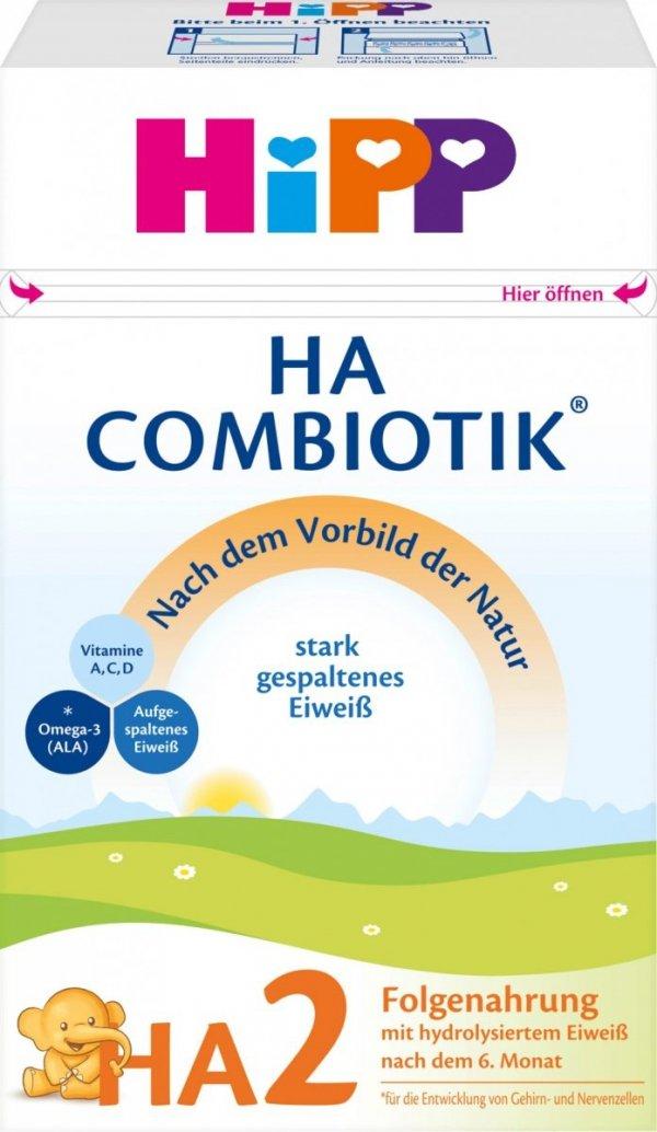 hipp-ha-2-combiotik-500g-mleko-następne-po-6miesiącu