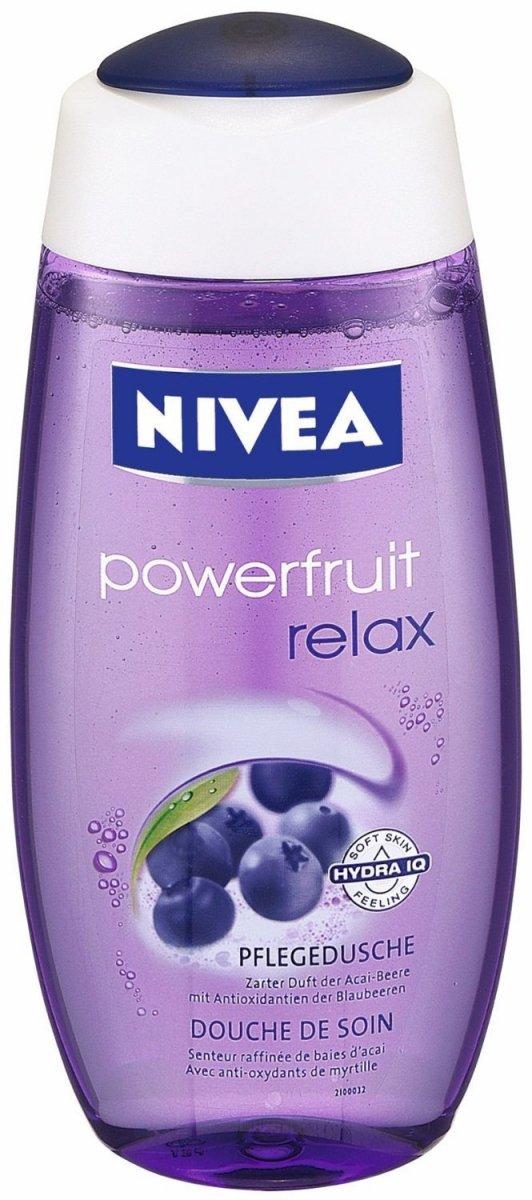 Nivea Żel pod Prysznic Moc Owoców Relax 250 ml