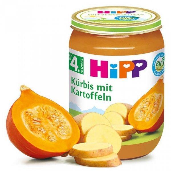 Hipp Bio Dynia Ziemniaczki Pierwsze Warzywa 4m 190g