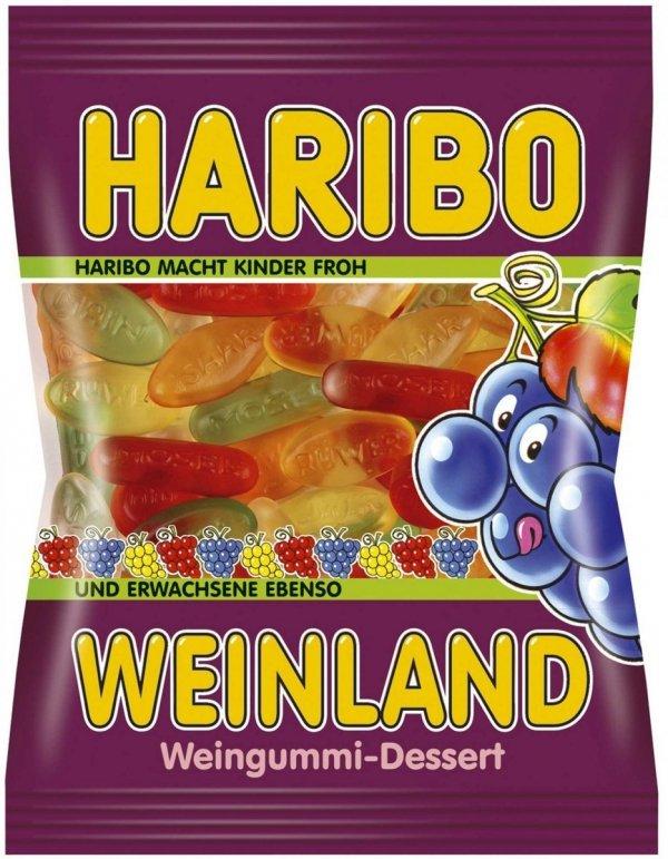 Haribo Żelki Weinland wytłoczone nazwy rzek 200 FV