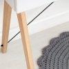 Meble Minko mają piękny, drewniany stelaż w kilku opcjach kolorystycznych do wyboru