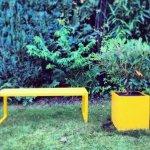Donica ogrodowa prostokątna 40x80x60cm Etro
