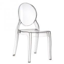Krzesło Elizabeth Siesta transparentne