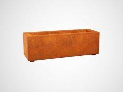 Donica metalowa - Corten LARGO 1 900x300x300
