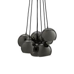 Lampa Ball Multi kolor czarny połysk BLACK CHROME GLOSSY Frandsen