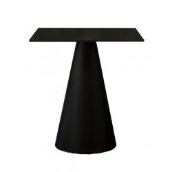 Stół Ikon 865 z kwadratowym blatem czarny
