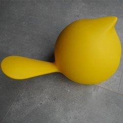 Ptak BIGGIE dekoracja PLUST żółty