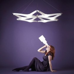 Lampa wisząca Kaleido 200x170 Slide