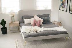 Łóżko tapicerowane REDU od MINKO