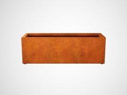 Donica metalowa - Corten LARGO 7 1800x600x600