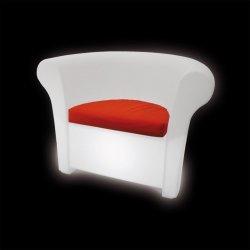 Kalla fotel z wbudowanym oświetleniem Slide