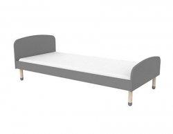 Łóżko dziecięce Flexa Play szare190cm
