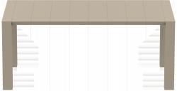 Stół Vegas Siesta 180/220cm