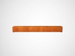 Donica metalowa - Corten LARGO 4 2700x300x300