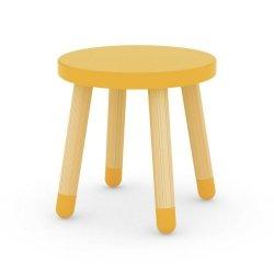 Stołek dziecięcy Flexa Play żółty
