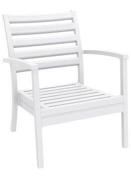 Krzesło Artemis XL Siesta białe