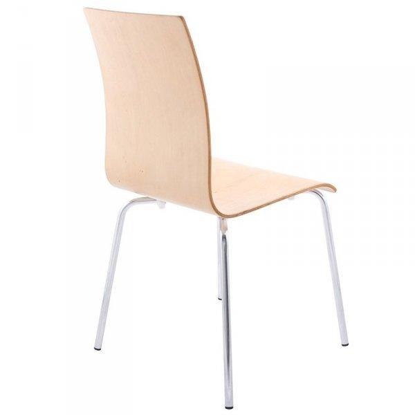 Classic stylowe krzesło do jadalni drewniane
