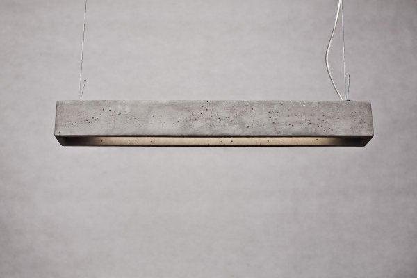 Betonówa Lampa Wisząca Natural Born Design