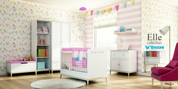 Łóżeczko dziecięce 140x70 Elle Timoore